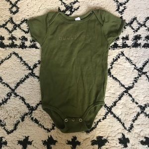 Other - Gucci coo graphic onesie